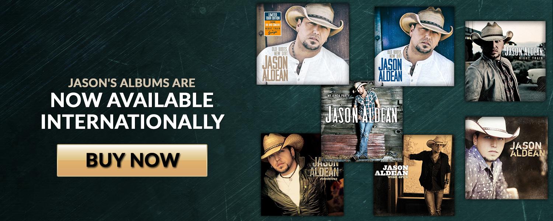Jason's Albums Now Available Internationally