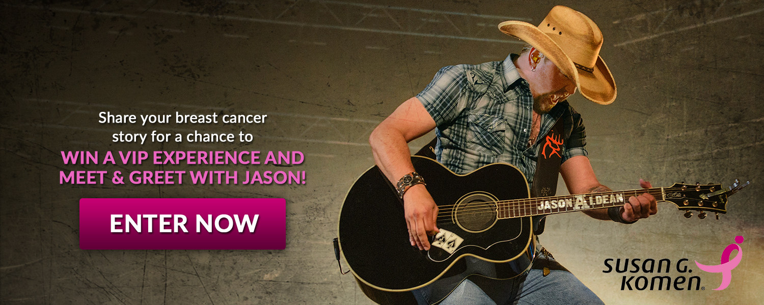 Win a VIP Experience and Meet & Greet with Jason