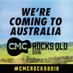 JASON TO HEADLINE CMC ROCKS QLD 2016 IN AUSTRALIA